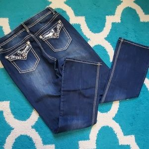 New Directions bootcut jeans size 10